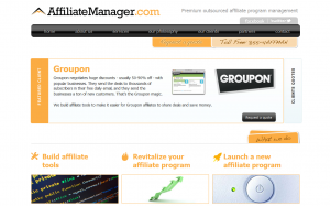 AffiliateManager.com full-size home page image