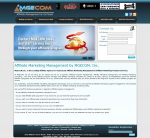 mgecom.com full-size home page image