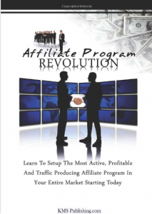 Affiliate Program Revolution book front cover full-size image