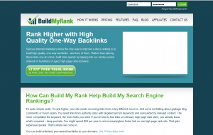 BuildMyRank.com Article Distribution Network home page full-size image