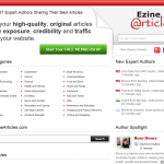 EzineArticles thumbnail image