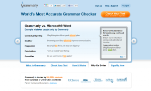 Grammarly.com Article grammar software full-size home page image