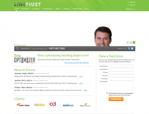 LinkTrust.com full-size home page image