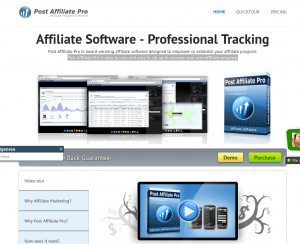 Quality Unit Post Affiliate Pro page full size image