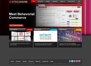 Steelhouse.com full-size home page image