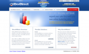 iDevdirect.com full-size home page image