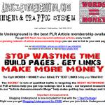 Article Underground thumbnail image
