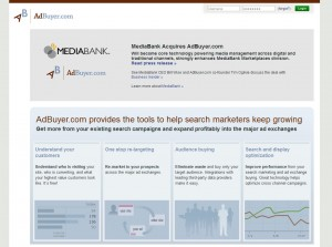 Adbuyer.com Retargeting Ad Networks home page full size image