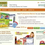 BannerDesignStudio Banner Ad Design Software home page full size image