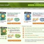 BannerDesignPro.com Banner Ad Design Software home page full size image