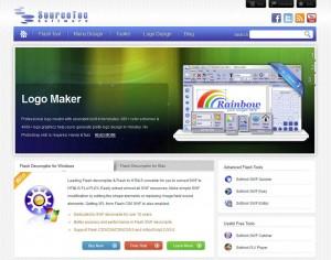 Sothink.com Banner Ad Design Software home page full size image