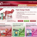 WebSmartz.net Banner Ad Design Software home page full size image