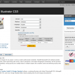 Adobe Illustrator CS5 order page full-size image