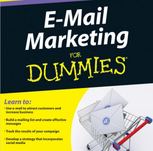 E-Mail Marketing For Dummies book full-size front cover image
