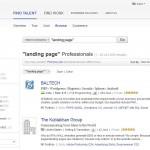 Elance Landing Page Design Contractors thumbnail image