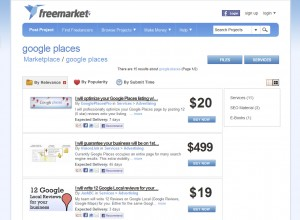 Freelancer.com Google Places Optimization home page full size image