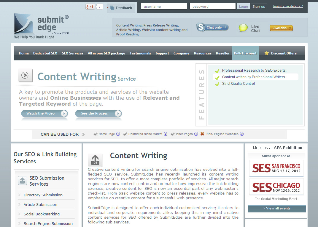 Press release writing service cost