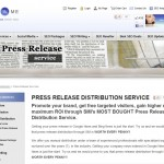 SubmitInMe Press Release Distribution thumbnail image