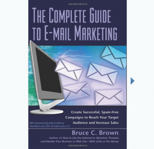 The Complete Guide to E-mail Marketing book front cover image
