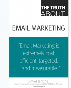 The Truth About Email Marketing book front cover image