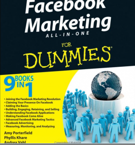Facebook Marketing for Dummies book full-size image