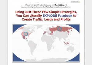 FBInfluence.com Facebook Marketing Tutorials home page full size image