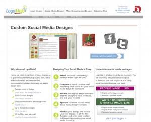 LogoMojo.comTwitter Background Design Service page full size image