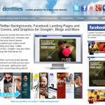 Social Identities Fan Page Design thumbnail image