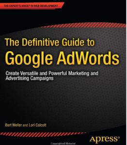 The Definitive Guide to Google AdWords book front cover image