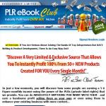 PLR eBook Club thumbnail image
