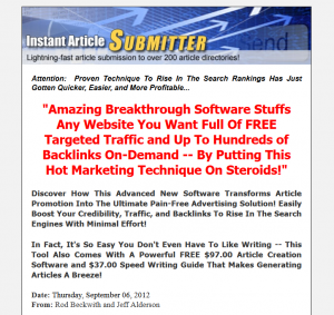 InstantArticleSubmitter.com home page full-size image