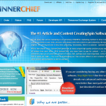 SpinnerChief.com Article Spinning Software full size home page image
