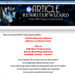 Article Rewriter Wizard thumbnail image