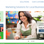 DexOne.com Local Marketing Services home page full size image