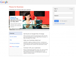 Google.com/places business listing page full size image