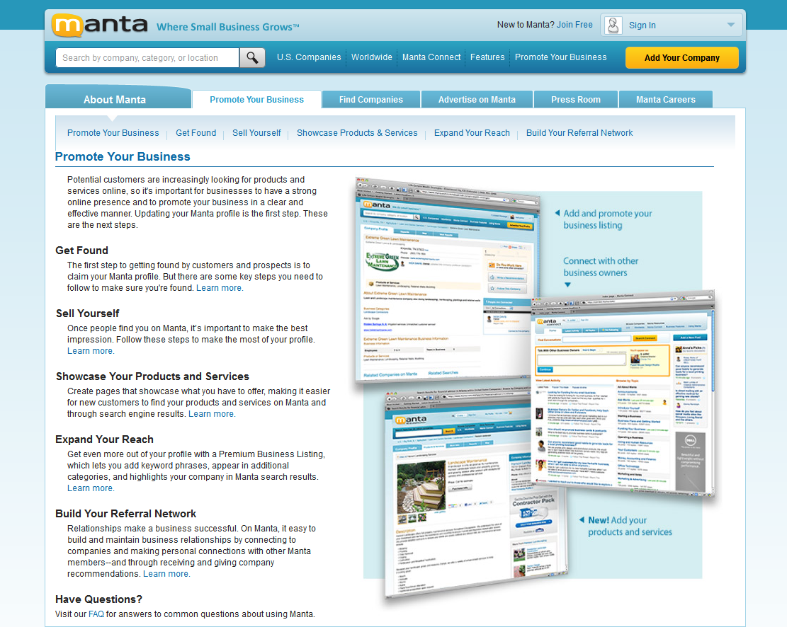 manta business listing info and reviews