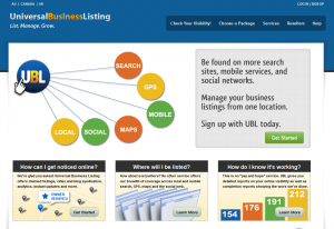 UBL.org local directory listing service home page full size image