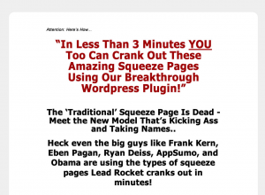 WPLeadRocket.com Wordpress squeeze page plugin home page full size image