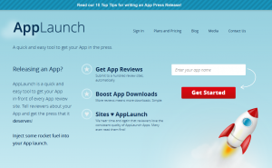 AppLaunch.us Mobile App Marketing Service home page full size image