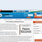 Content Customs Press Release Writing Service thumbnail image