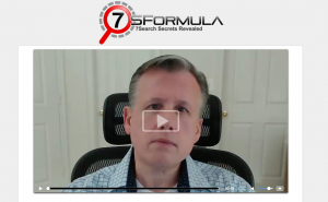 7SFormula.com 7Search Advertising Training Program home page full size image