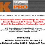 Keyword Research Pro thumbnail image