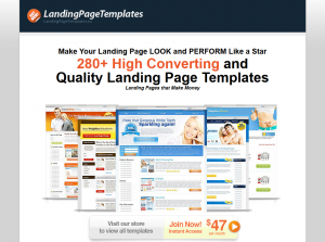 LandingPageTemplates.us home page full size image
