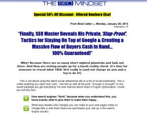 SEOMindSet.com SEO Training eBook home page full size image