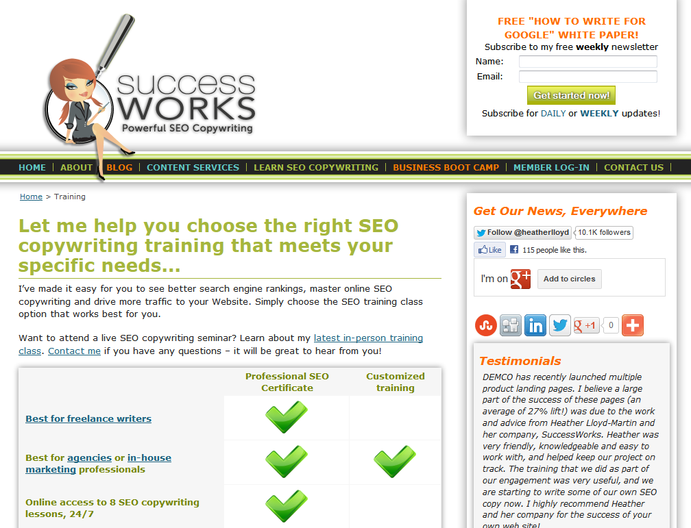 Successworks Professional Seo Certification Reviews Ratings And