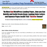 WordPress Landing Page Templates Plugin thumbnail image