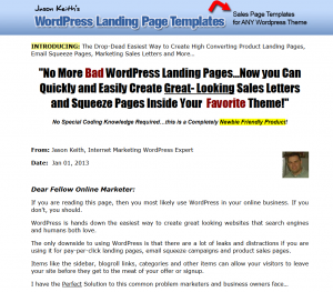 Wp-landingpages.com Wordpress Landing Page Templates Plugin home page full size image