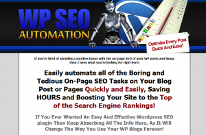 WPSEOAutomation.com Wordpress SEO Plugin home page full size image