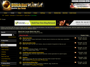 BlackHatWorld.com Black Hat SEO Forums home page full size image