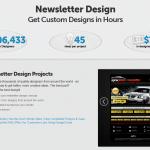 DesignCrowd Newsletter Design thumbnail image